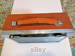 Working Vintage GE General Electric Super 8 Transistor AM Radio Model P-780B