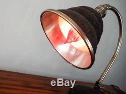1930 Vintage Art Déco Lampe De Bureau Machine Era Décor General Electric Lighting