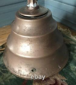1930s Vintage Industriel Métal Deco Lourde Lampe Solaire Électrique Générale