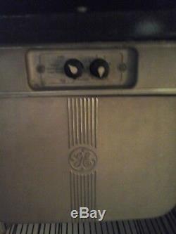 1940 General Electric Réfrigérateur Art Déco / Vintage A Besoin De Réparations