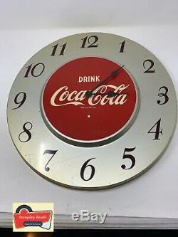 1950 Vintage Coca-cola Horloge General Electric