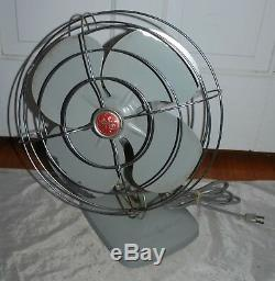 1950 Vintage General Electric Fan, Great Works