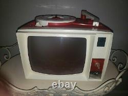 1960 Vintage General Electric Voir N Tell Phono Viewer Avec Des Tonnes D'histoires 18