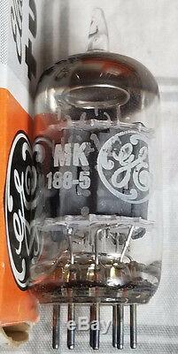 5751 Ge General Electric Nos Nib Vintage Tube Vide Manches De 5 12ax7