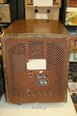 A 1940 Vintage Général Modèle Électrique C2506 Récepteur De Télévision As Is