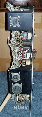 Affichage Électrique Antique De Compteur D'interrupteur De Générateur Militaire Vintage