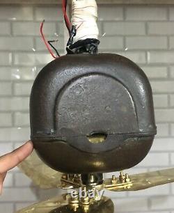 Antique General Electric Co Ltd London Ventilateur De Plafond Volt 200 Ac