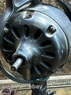 Antique General Electric Fan Motor Base Formulaire B 35062 Pièces Ou Travaux De Restauration
