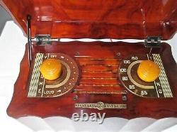 Antique General Electric Vintage Catalin Tube Radio Modèle L-622 Restauré, De Travail