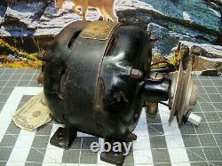 Antique Genral Electric Motor 1725 RPM 1/6hp USA Tool Vintage Open Face