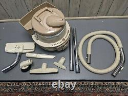 Clean General Electric Vacuum Cleaner Pivoter Top Vintage Model Viici3 W Outils