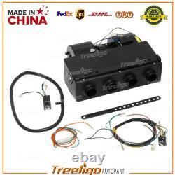 Compresseur D'air Conditionné Électrique Universel 4 Trous A/c Auto 12v