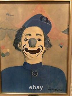 Dorothy Kilgallen General Electric Vntg Art Celebrity Imprimer The Blue Pompier