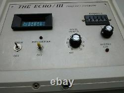 Electric Frequency Guitar Effects Générateur Sonore The Echo III Pedal Vintage