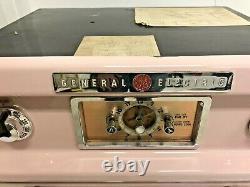 Four Vintage Ge Pink Stove Milieu Du Siècle Cuisine Moderne Générale Électrique 50s