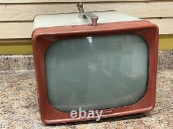 Ge General Electric 14t009 B/w 1950's 12 Portable Vintage Antique Television