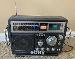 Ge General Electric Modèle 7-2990a Portable 6 Bandes Am/fm Radio À Ondes Courtes Vintage