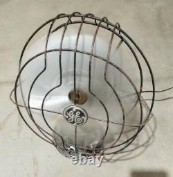 Ge General Electric Ventilateur 9 Courses Antiques Vintage! Prêt Pour La Restauration
