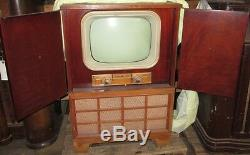 Ge General Electric Vintage Film Prop Télévision Tv Te120