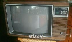 Ge Vintage C. 86 Général Tv Couleur Électrique Modèle 19pf6730 19