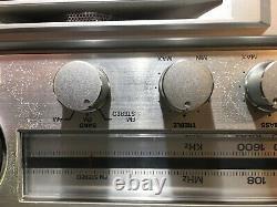 General Electric 3-5259a Mls3 Vintage Stereo Boombox Am/fm Cassette Avec Compteurs