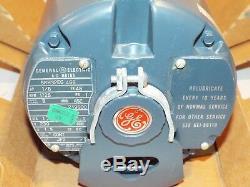 General Electric 5kh32eg 468 Pompe 1/8 HP 1725 RPM Ac Moteur Neuf Vintage. I66