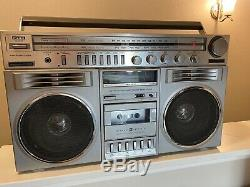 General Electric Ge 3-5259a Radio Blockbuster Vintage Old School 1980 Boombox