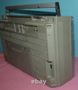 General Electric Ge 3-5259a Radio Blockbuster Vintage Old School 1980s Boombox