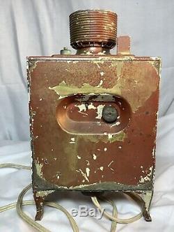 General Electric Ge Telechron Électrique Réfrigérateur Horloge Vintage, Travail! Lis