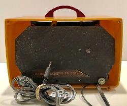 General Electric L-570 1940 Catalin Bakélite Radio Tube À Vide Vendange