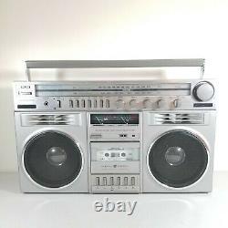 General Electric Mls3 Modèle 3-5259a Boombox Radio Cassette Musique Am Fm Vtg
