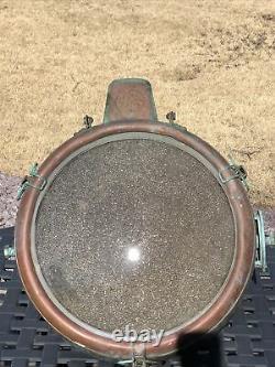 General Electric Novalux Projecteur Copper Floodlight Spotlight Vintage Working