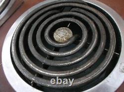 General Electric Vintage Brown Cooktop Cook Top Stove Gamme 4 Brûleur Inconnu Con