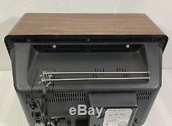 General Electric Vintage Television 13 Modèle 13ac2545w Avec Télécommande D'origine