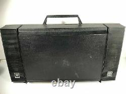 General Electric Wildcat Vintage Ge Turntable Portable Record Player Made In USA