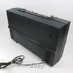 General Electric Wildcat Vintage Ge Turntable Portable Record Player Works Radio