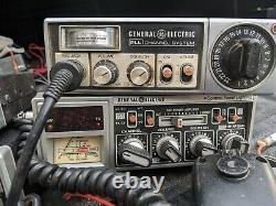 Lot Of 8 Vintage Sharp Et General Electric Ge Cb Radios