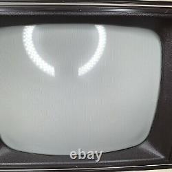 Nice Vintage General Electric 10'' Portable Tv Couleur Tvgaming Travail