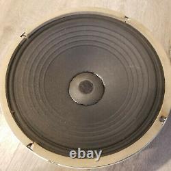 Paire Vintage General Électrique A1-403 8ohm Woofers Bas Haut-parleurs 12 Pouces