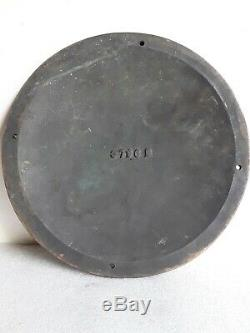 Rare Grand 12 Lourd Laiton General Electric Ge Emblem Logo Vintage Se Connecter 1920