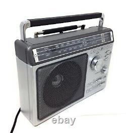 Rare Vintage 1980 General Electric Ge 7-2881c Am Fm Radio