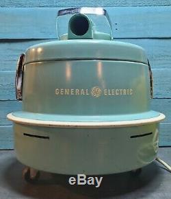 Rare Vintage General Electric V11c188 Traîneau Aspirateur Withhose