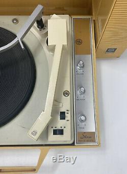 Rare! Vtg General Electric Diamant Stylus Wildcat Phonographes Œuvres Lire