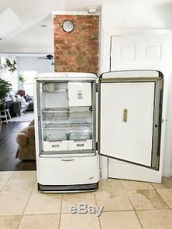 Réfrigérateur Électrique Antique Général -vintage Fonctionne Toujours Parfaitement