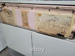 Réfrigérateur Mural Vintage General Electric Des Années 1950