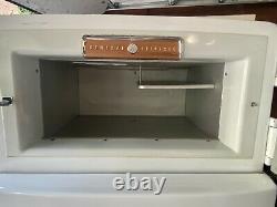 Réfrigérateur Rétro-rénové 1954 Ge General Electric Sur Mesure Combination