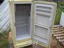 Retro Vintage 1958-1964 Ge General Electric Réfrigérateur Congélateur Frig Rare