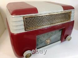 Tabletop Radio Antique Vintage Art Deco Ge Modèle 202 General Electric Primeau
