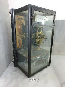 Thomson Direct Current Watthour Meter Vintage Circa 1907 Antique General Electr