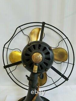 Ventilateur D'oscillation De La Lame De Laiton Électrique Générale D'origine 13 Type Auu Af1